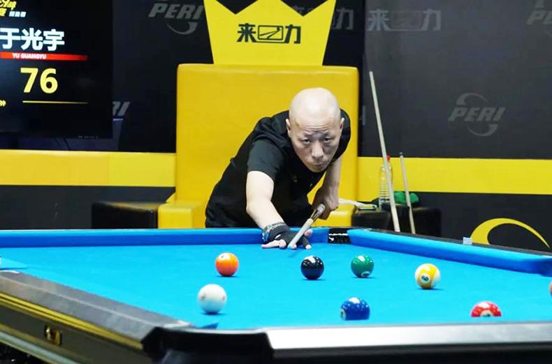 江振宇,于光宇,LCBA中式九球擂台赛预选赛第三场