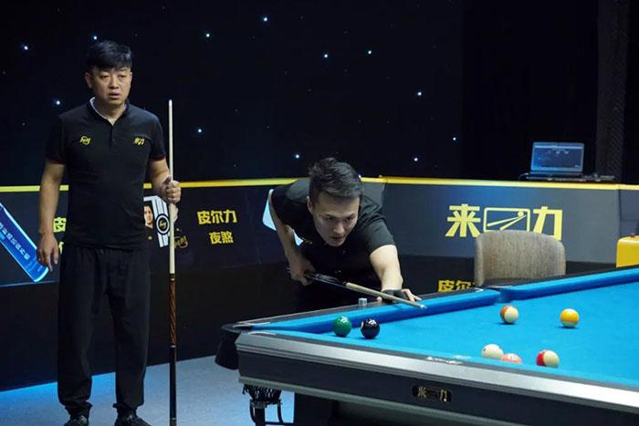 LCBA双打竞技赛,代勇,李铁刚,顾思迪,李禹成